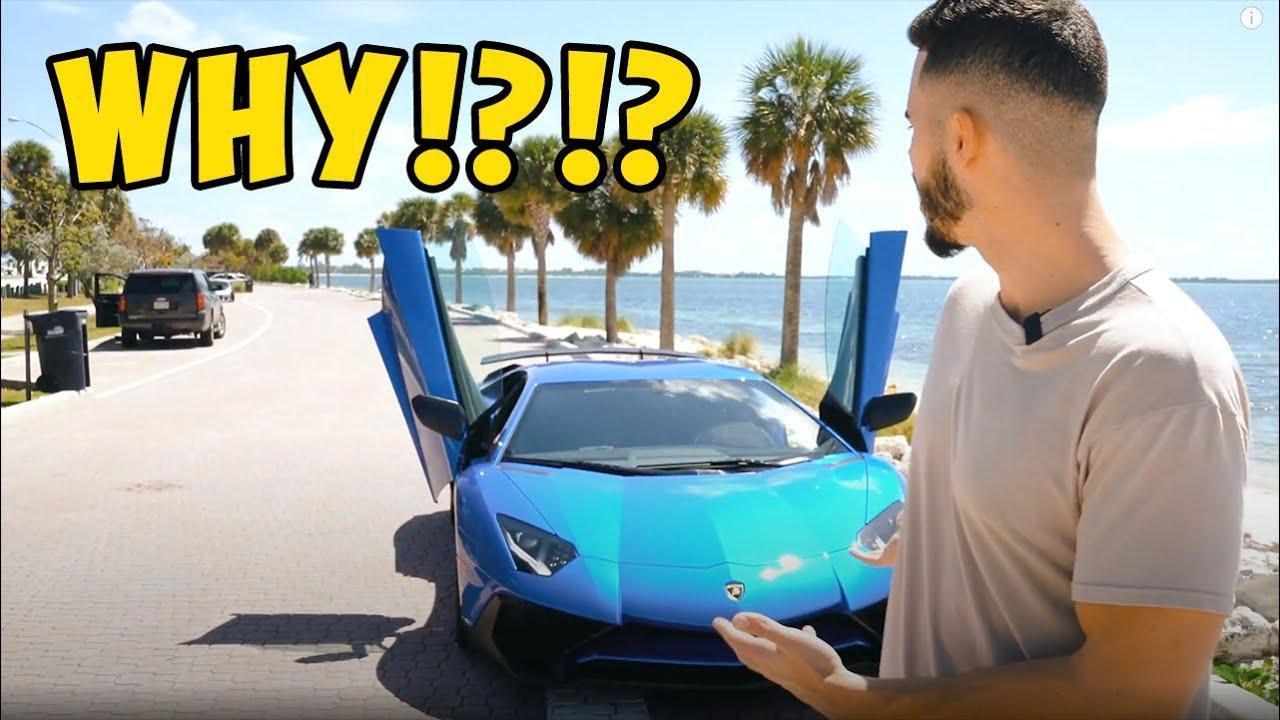 Taking Delivery Of My Lamborghini Aventador SV (1 of 600)