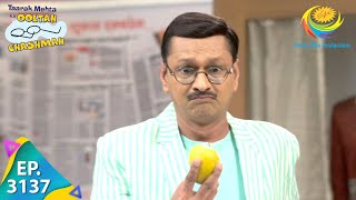 Taarak Mehta Ka Ooltah Chashmah - Ep 3137 - Full Episode - 5th April, 2021