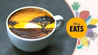 The Lion King Latte Art  Disney Eats