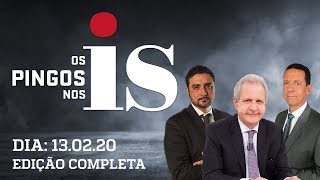 Os Pingos Nos Is - 13/02/2020 - Frase de Guedes / Lula e o papa / Moro desmascara o PSOL