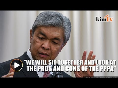 Zahid: After GE14 we will 'revisit' PPPA, discuss media council as a self-regulatory body