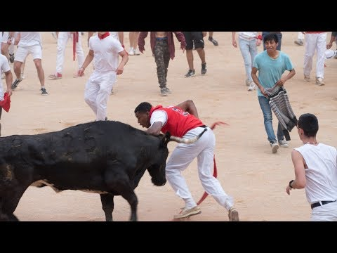 RUNNING OF THE BULLS With A GoPro! // VLOG 03