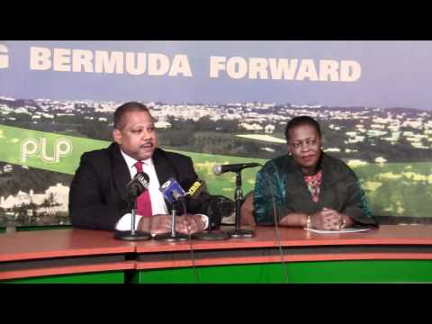 PLP Confirm Walton Brown Bermuda November 28 2011