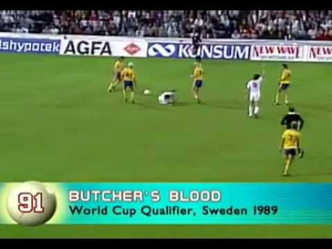 Terry Butcher's Blood 1989