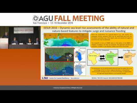 FM16 Press Conference: Water world: Historic floods, sea level rise, storm surge and climate change