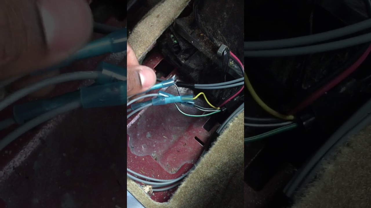 2005 Chevy Impala Radio Wiring Diagram 08 Chevy Impala Shifter Stuck In Park Simple Fix Youtube