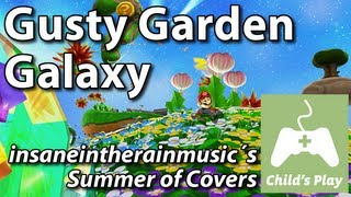 Gusty Garden Galaxy - Super Mario Galaxy | Funk Piano Cover
