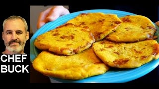 Pupusas Recipe gluten-free corn flour pupusa