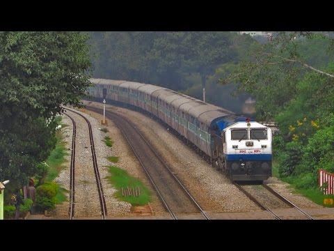 Diesel Loco Shed, Krishnarajapuram (KJM) - WDP 4 Locomotives