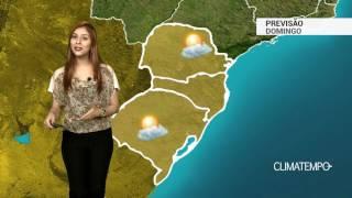 Previsão Sul - Temperaturas sobem mais