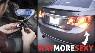 LED Lights Install  2012 Chevy Cruze LT How To