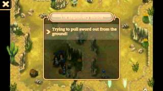 Legendary Sword Location - Hakan Desert 2 - Inotia 4 Android RPG