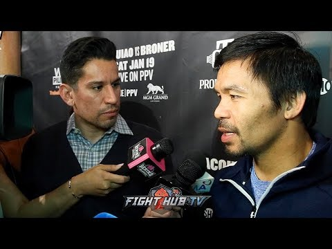MANNY PACQUIAO SAYS HE NEVER SAID NO TO CRAWFORD FIGHT !'WANTED TO FIGHT HIM BEFORE THE HORN FIGHT!'