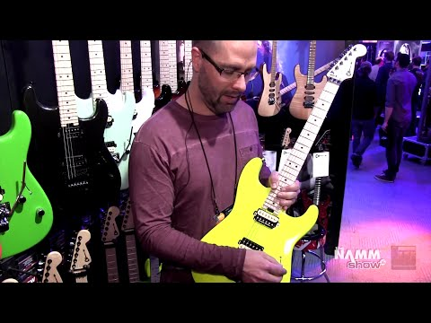 Long & McQuade @ NAMM 2016: Charvel Guitars
