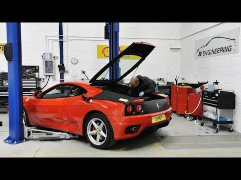 Ferrari 360: Repair & Exhaust Comparison [Tubi vs Capristo vs CS]