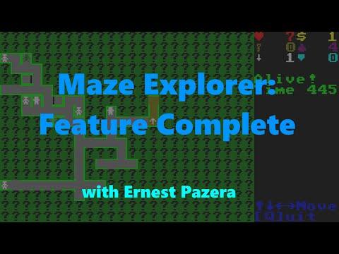 Maze Explorer: Feature Complete!
