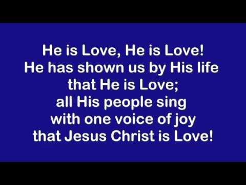 He Is Lord - Lyrics & Accompaniment