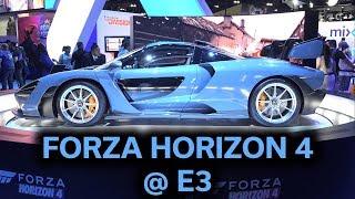 Forza Horizon 4 - Epic E3 Demo with all 4 Seasons