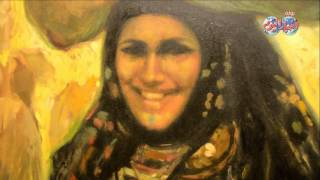 دينا توفيق رفيقه مشوار الفنان التشكيلي عبد العال حسن عاشق للمراة المصرية