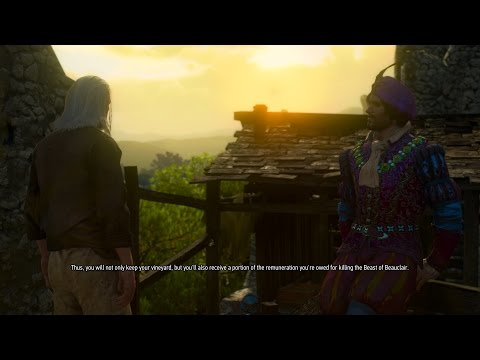 The Witcher 3: Blood and Wine. Jail ending.