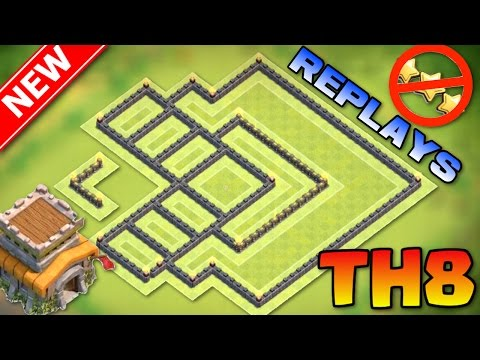 NEW BEST TOWN HALL 8 ANTI-3 STAR WAR BASE!! With Replays + Proof | Base Explanation | Clash of Clans