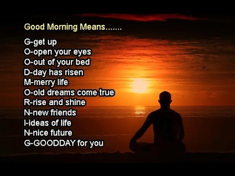 Good morning meaning graphic what is meant by good morning youtube good morning meaning graphic what is meant by good morning m4hsunfo