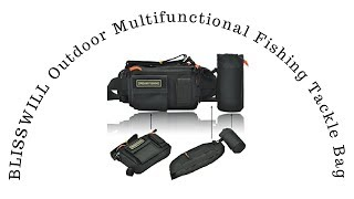 Blisswill Outdoor Multifunctional Fishing Tackle Bag Gifts For Fishermen