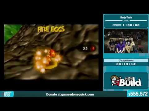 Banjo-Tooie by kaptainkohl in 47:24 - Summer Games Done Quick 2015 - Part 118