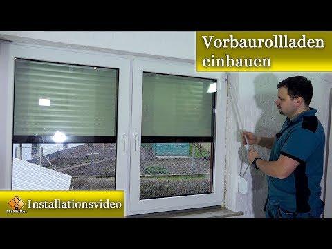Fabulous Vorbaurollladen einbauen / Rollladen einbauen - Montageanleitung LV82