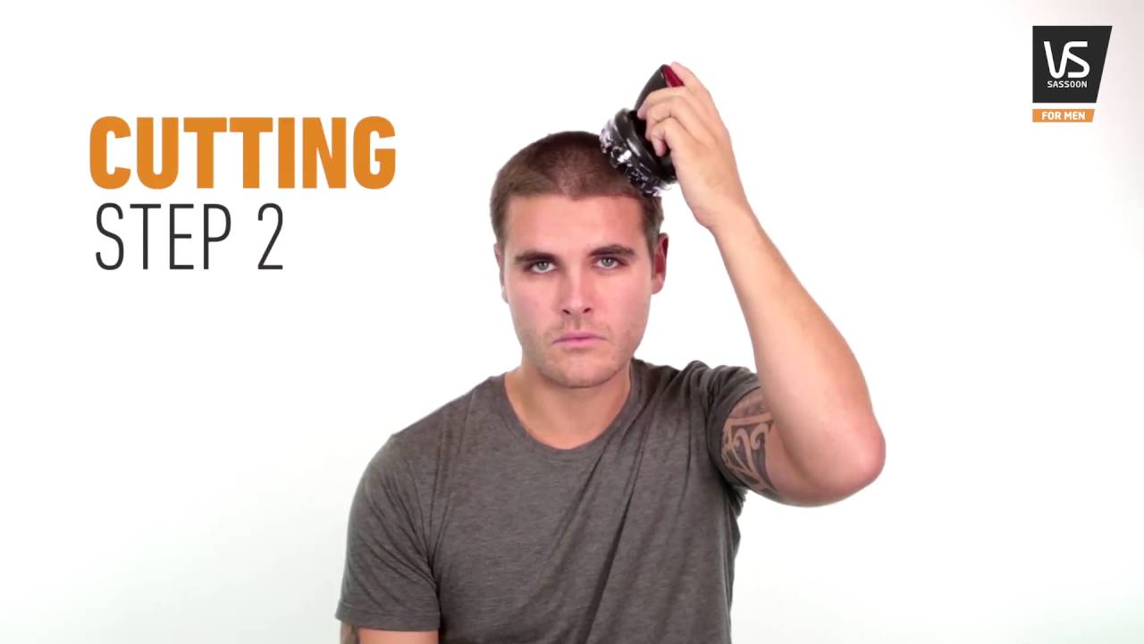 How To Create A Crew Cut With Vs For Men Youtube