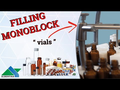 Albertina - Monoblock - Perfect Solution For Cosmetic, Pharmaceutical Products, Etc. (Vials)