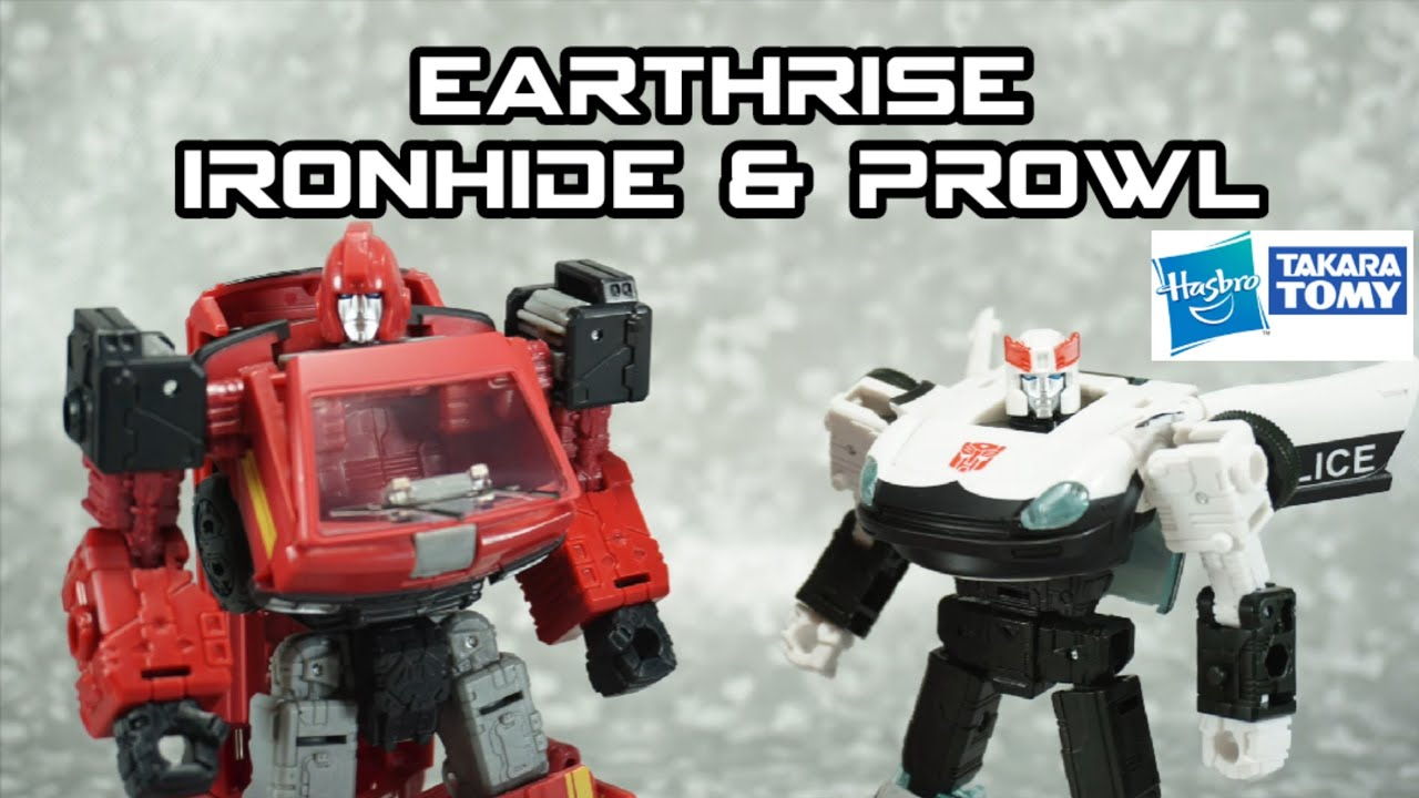 Transformers Earthrise Ironhide & Prowl Amazon Exclusive In-Hand Review by TMReviews
