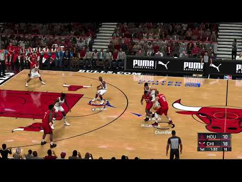 Playing NBA 2k 20