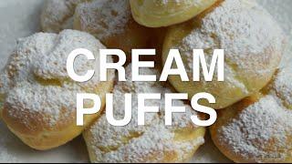 EASY Cream Puffs RECIPE