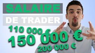 Combien gagne un trader ?