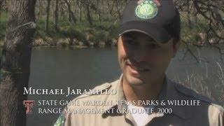 Career Profile - Game Warden - Michael Jaramillo - NRM Alum