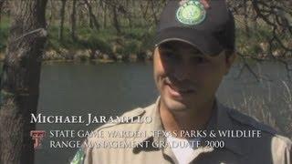 Career Profile - Game Warden - Michael Jaramillo - NRM Alum