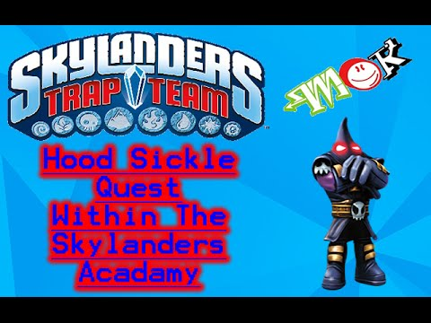 Mok: New! Skylanders: Trap Team: Hood Sickle Quest ...