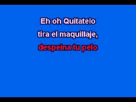karaoke quitatelo alejandra guzman ft beatriz luengo