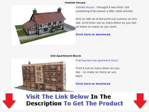 Model Railway Scenery Tips + Model Train Yard Layouts