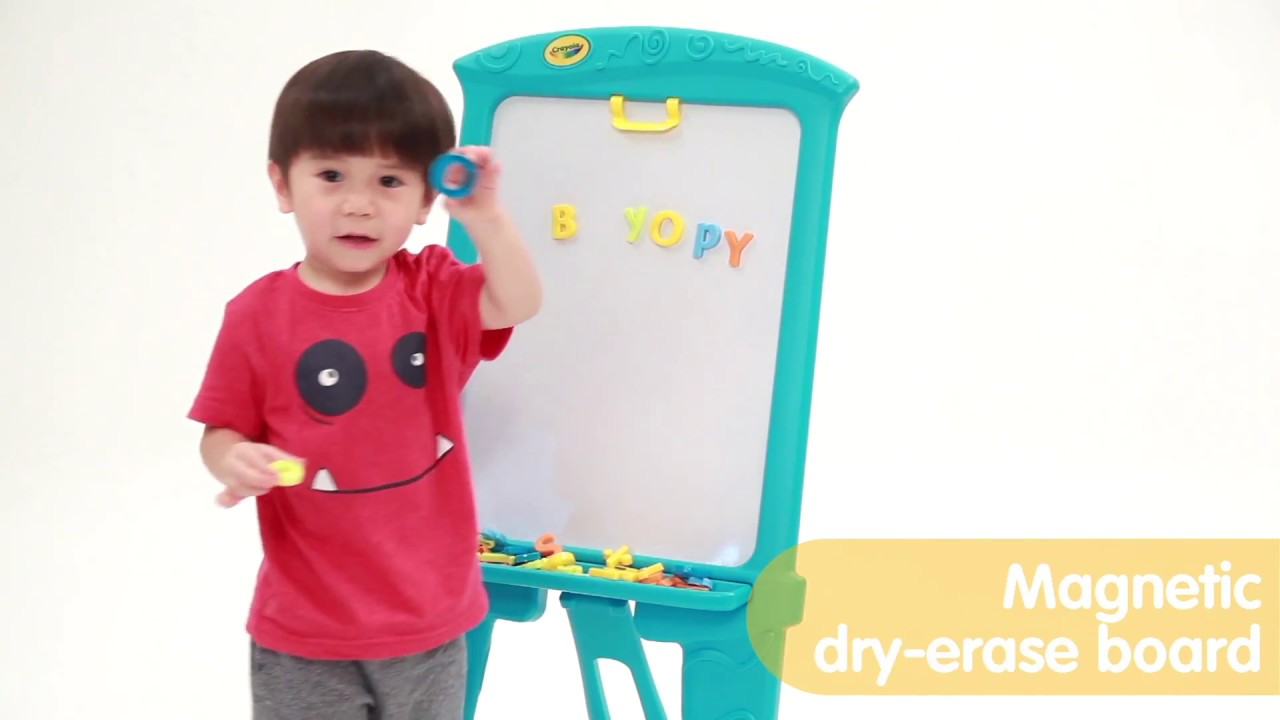 Grown Up Crayola Double Sided Artist Easel