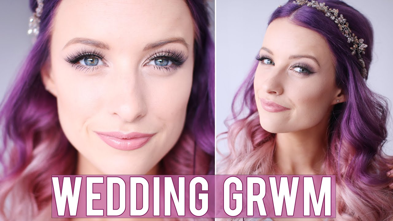 fd7f9b97b45a GRWM Bridesmaids Wedding Makeup
