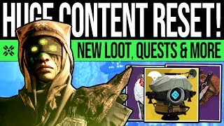 Destiny 2 | HUGE DLC RESET! New CONTENT! Moon Quest, Legend Nightmares, Banner & Vendors (15th Oct)