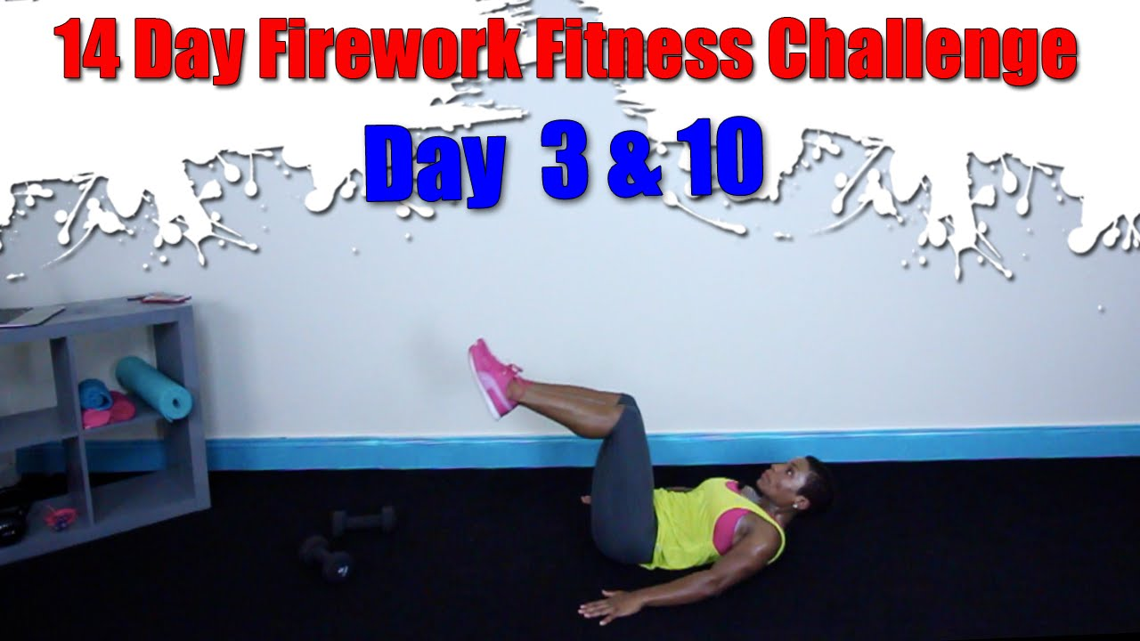 15 Minute Upper Body Dumbbell Workout | Day 3 & 10 | Firework Fitness  Challenge |