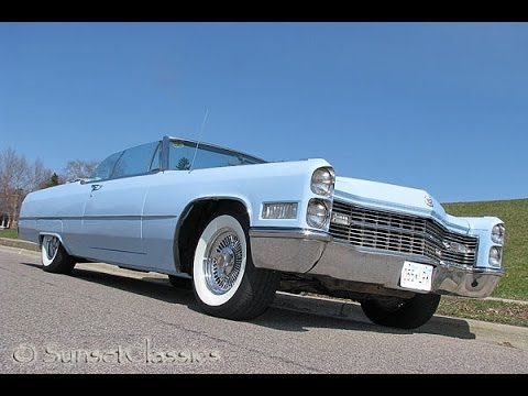 1966 Cadillac DeVille Convertible for Sale - YouTube