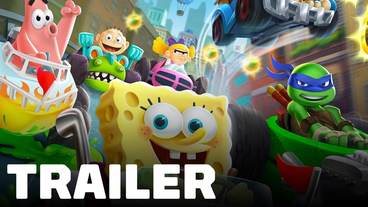 Nickelodeon Kart Racers - Gameplay Trailer - IGN