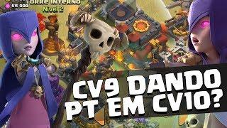 CV9 DANDO PT EM CV10 NA WAR!! TIGERS UMA FAMÍLIA!! CLASH OF CLANS