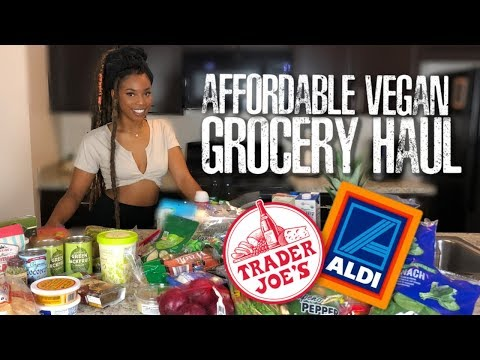 AFFORDABLE PLANT BASED GROCERY HAUL by @YANAGLO