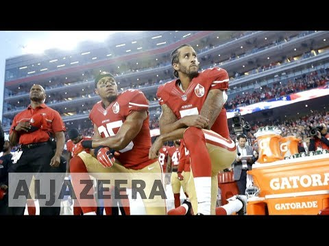 Trump: Fire players who kneel during US national anthem