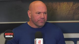 Dana White talks UFC 259, holding events in Texas | ESPN MMA